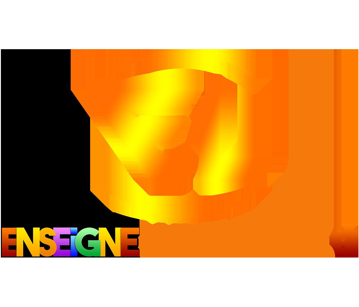 Enseignes lumineuses à Lausanne, Vaud, Suisse